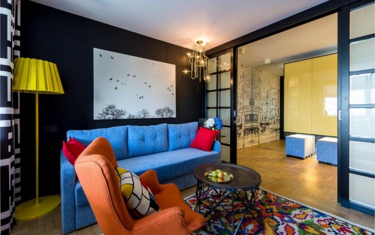 interior designers russia Top Interior Designers Russia DAO Interior Mondrian Living Room 1