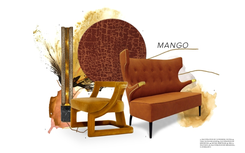 Mango Color mango color An Exotic Interior Design Trend: Meet Mango Color A Juicy Interior Design Trend  Meet Mango