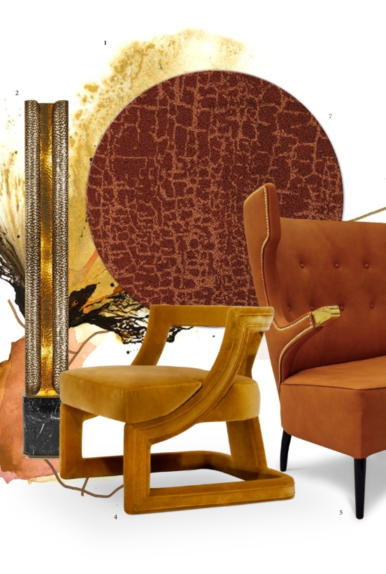 Cool An Exotic Interior Design Trend Meet Mango Color Camellatalisay Diy Chair Ideas Camellatalisaycom