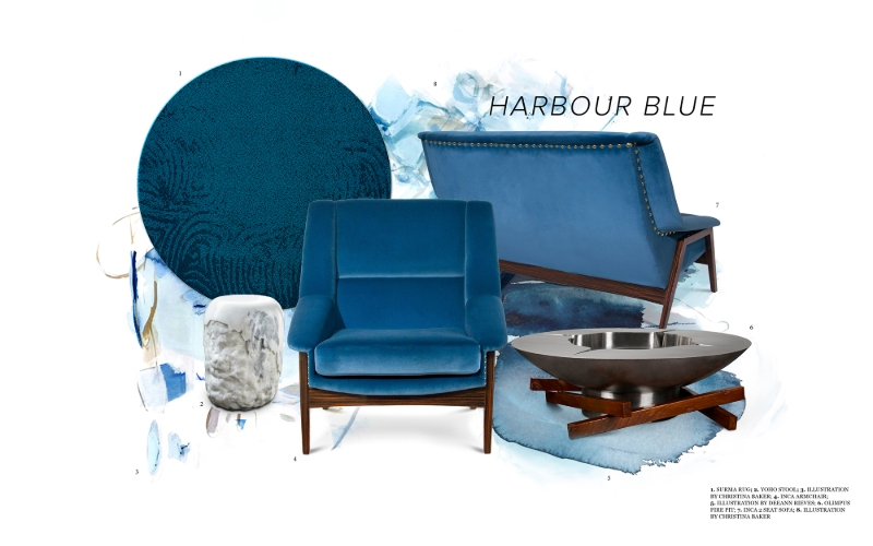 harbour blue Fall Winter Trends: Harbour Blue is the Warmest Color Fall Winter Trends  Harbour Blue is the Warmest Color 1