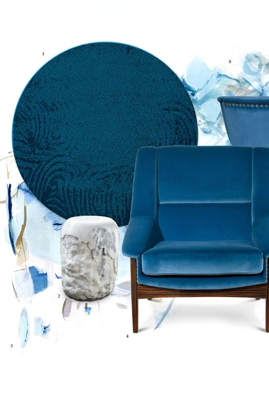 harbour blue Fall Winter Trends: Harbour Blue is the Warmest Color Fall Winter Trends  Harbour Blue is the Warmest Color 2 552x820