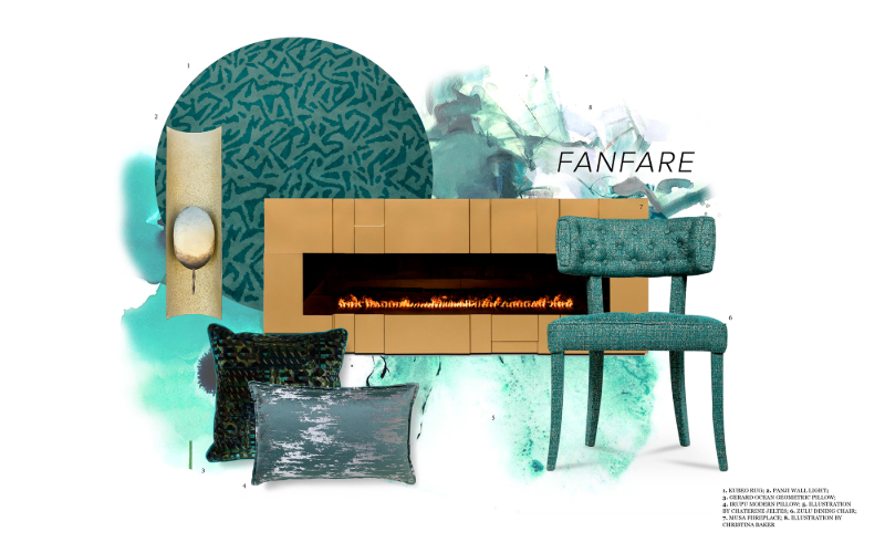 Fanfare Color fanfare color Fanfare Color: Setting the Mood for Tranquility Fanfare Color