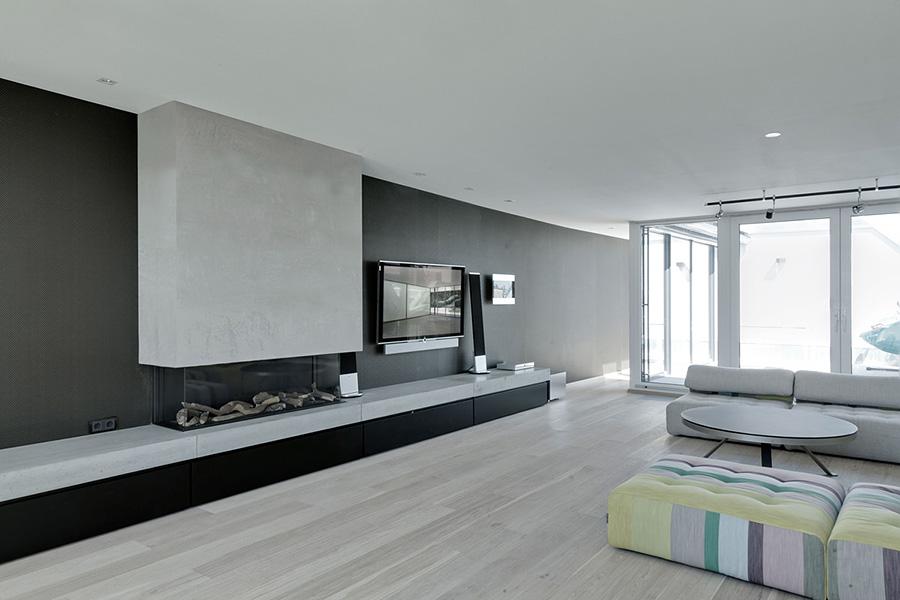 Carlo Berlin: contemporary apartments with a sophisticated touch carlo berlin Carlo Berlin: Contemporary Apartments With A Sophisticated Touch CARLO Berlin Penthouse Wohnzimmer Dachgeschoss