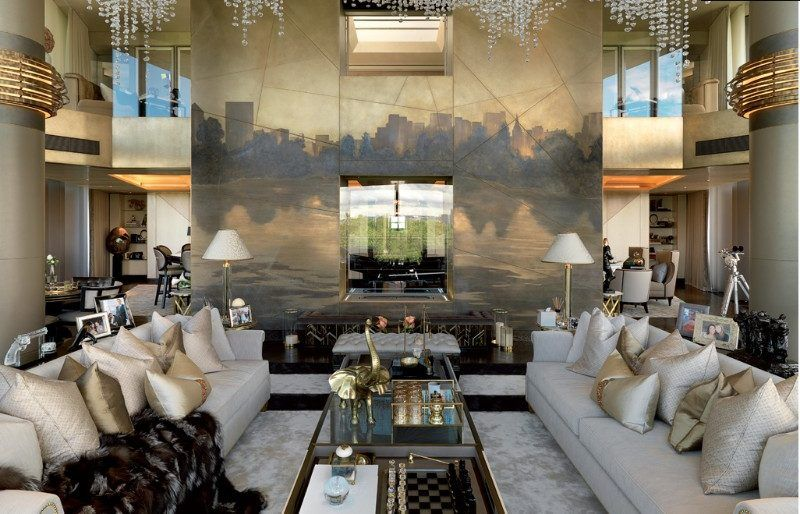 Interior Designers From London interior designers from london 5 Interior Designers From London With Dreamy Projects Candy London Knightsbridge Penthouse