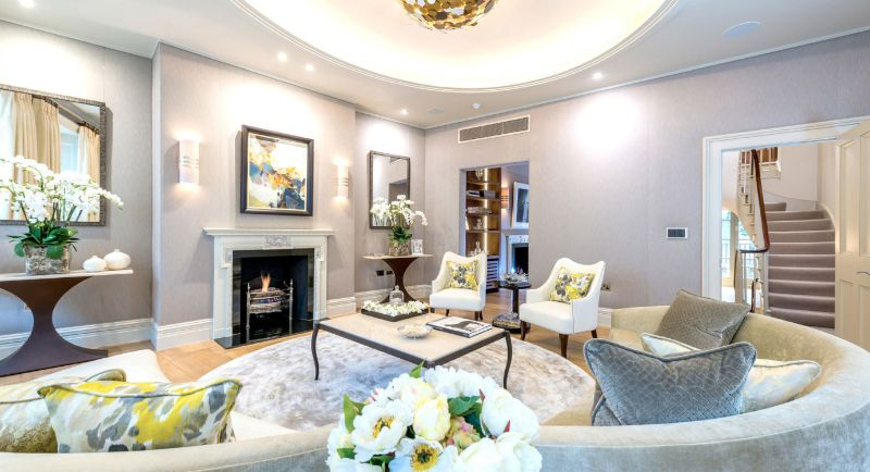 Interior Designers From London interior designers from london 5 Interior Designers From London With Dreamy Projects Capital Interiors Ltd Sophisticated Belgravia Residence