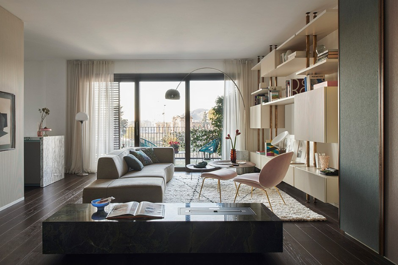 10 Singular Interior Design Projects by Milan Designers milan designers 10 Singular Interior Design Projects by Milan Designers Citylife apt