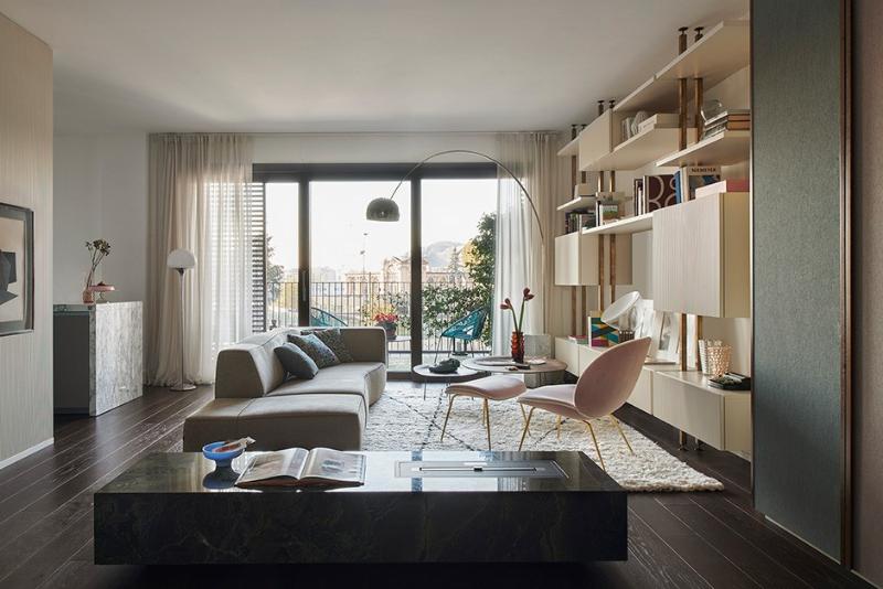 10 Singular Interior Design Projects by Milan Designers milan designers Singular Interior Design Projects by Milan Designers Citylife apt