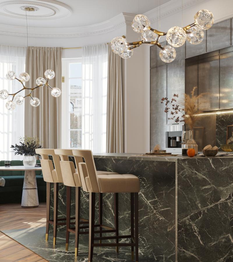 greatest atlanta interior designers Modern inspiration from the greatest Atlanta Interior Designers Kitchen Bar 800x1000 1