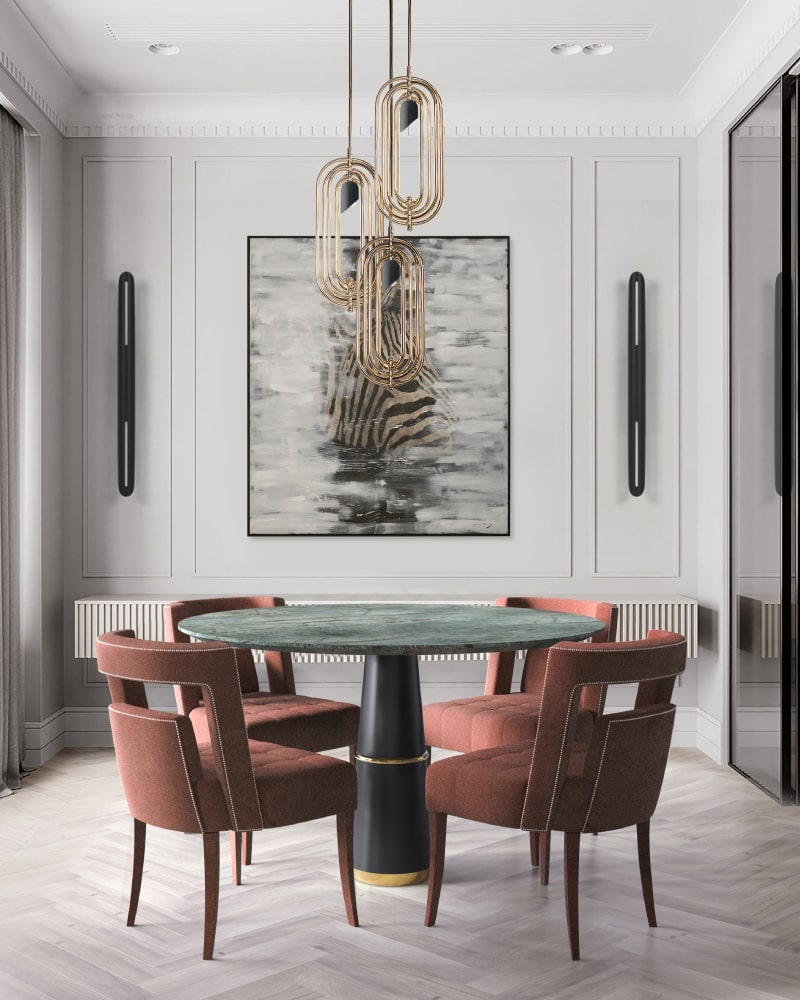 High-End Interior Design Projects by Yasmin Interiors  high-end interior design projects by yasmin interiors High-End Interior Design Projects by Yasmin Interiors BB agra round naj dining 1