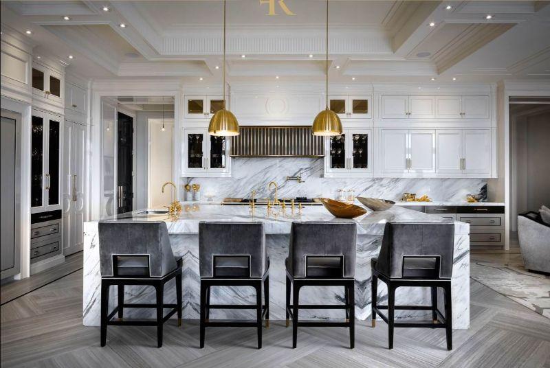 Ferris Rafauli Elite Inspirations To Master Your Design ferris rafauli Ferris Rafauli Elite Inspirations To Master Your Design Ferris Rafauli     Modern Marble Kitchen