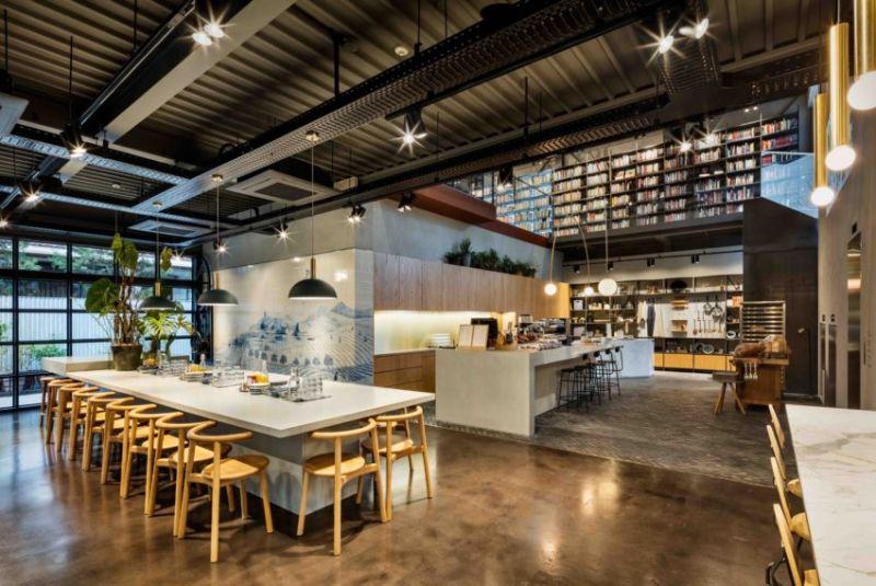 hospitality interior  hospitality interior Hospitality Interior Ideas by Blacksheep Hyundai Cooking Library