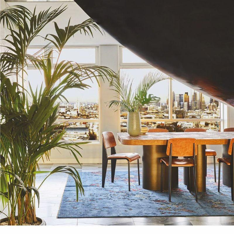 Spinocchia Freund, London-based Most Original Interior Design spinocchia freund Spinocchia Freund, London-based Most Original Interior Design Spinocchia Freund     Dining Room Centre Point Penthouse