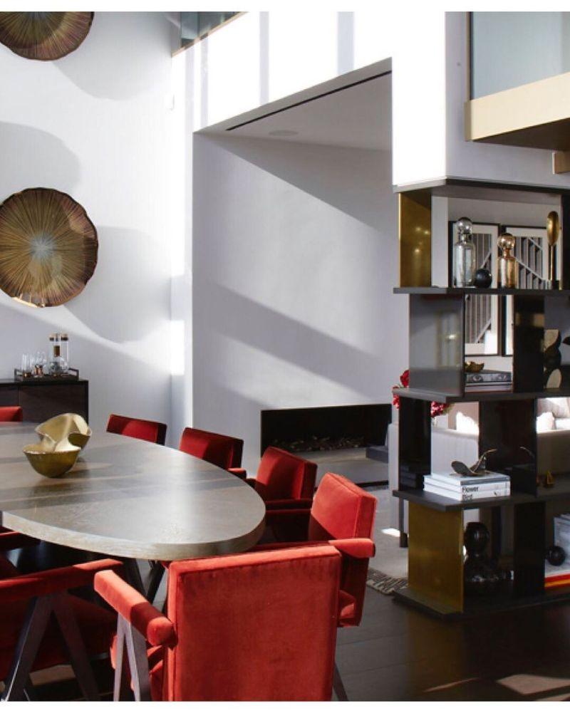 Spinocchia Freund, London-based Most Original Interior Design spinocchia freund Spinocchia Freund, London-based Most Original Interior Design Spinocchia Freund     Rust Red