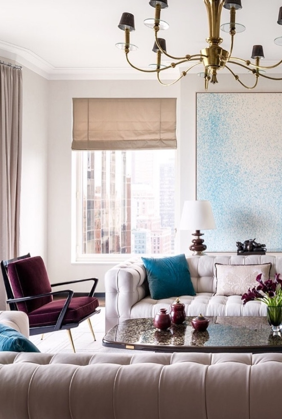 Thad Hayes Interiors New York thad hayes Thad Hayes, Bold Dining and Living Room Ideas Thad Hayes Interiors New York 1