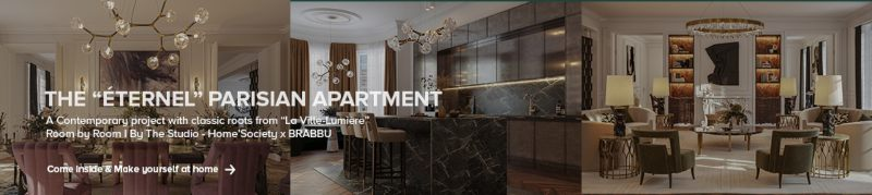 Modern Home Design: Covering all Rooms with Fierce & High-End Decor modern home design Modern Home Design: Covering all Rooms with Fierce & High-End Decor the eternal parisian apartment 800 2