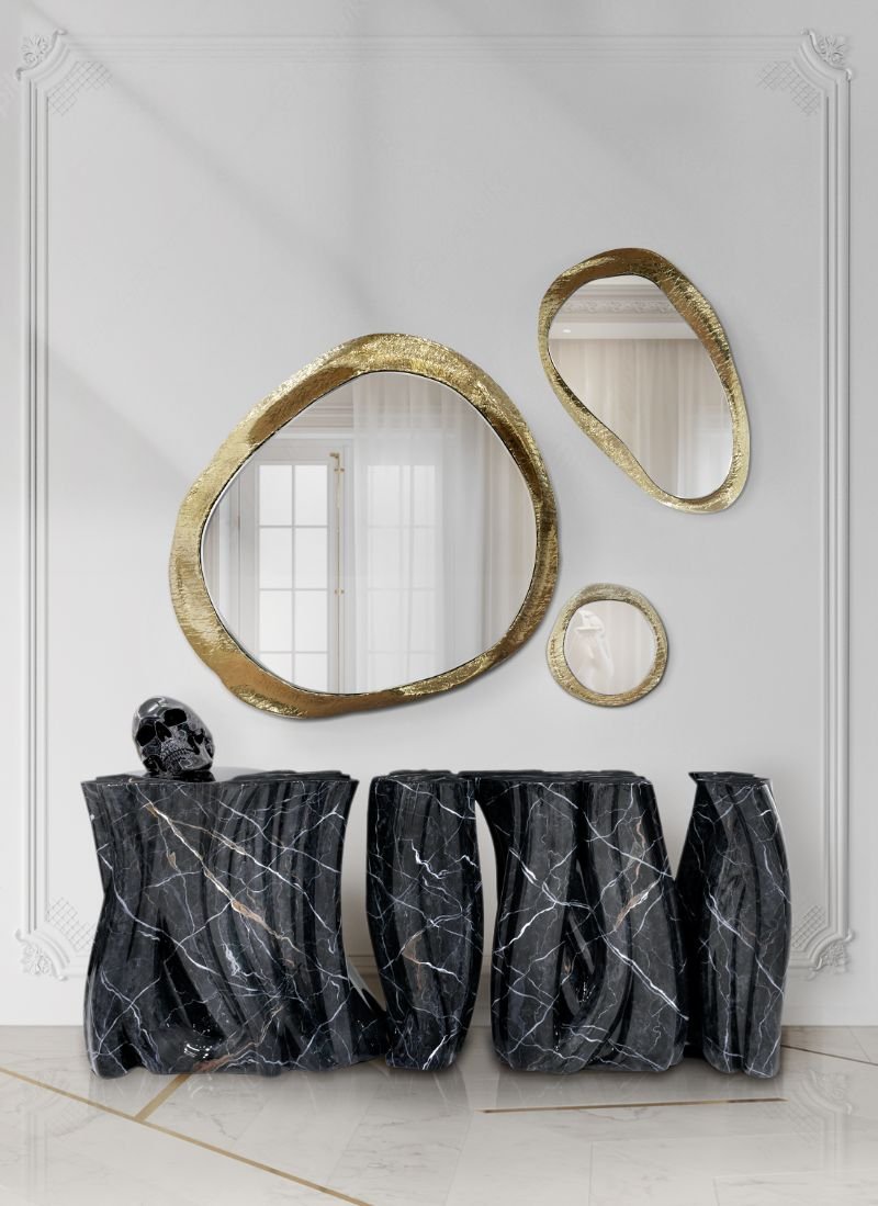 entryway and hallway design Entryway and Hallway Design: Modern Decor, Elegant and Sophisticated Entryway and Hallway Design Modern Decor Elegant and Sophisticated black console table 2