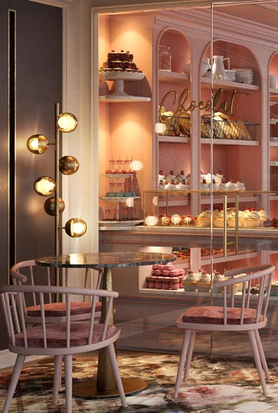 kitzig design studios Kitzig Design Studios- From Germany to the World Interior Chocolaterie 04 1 1