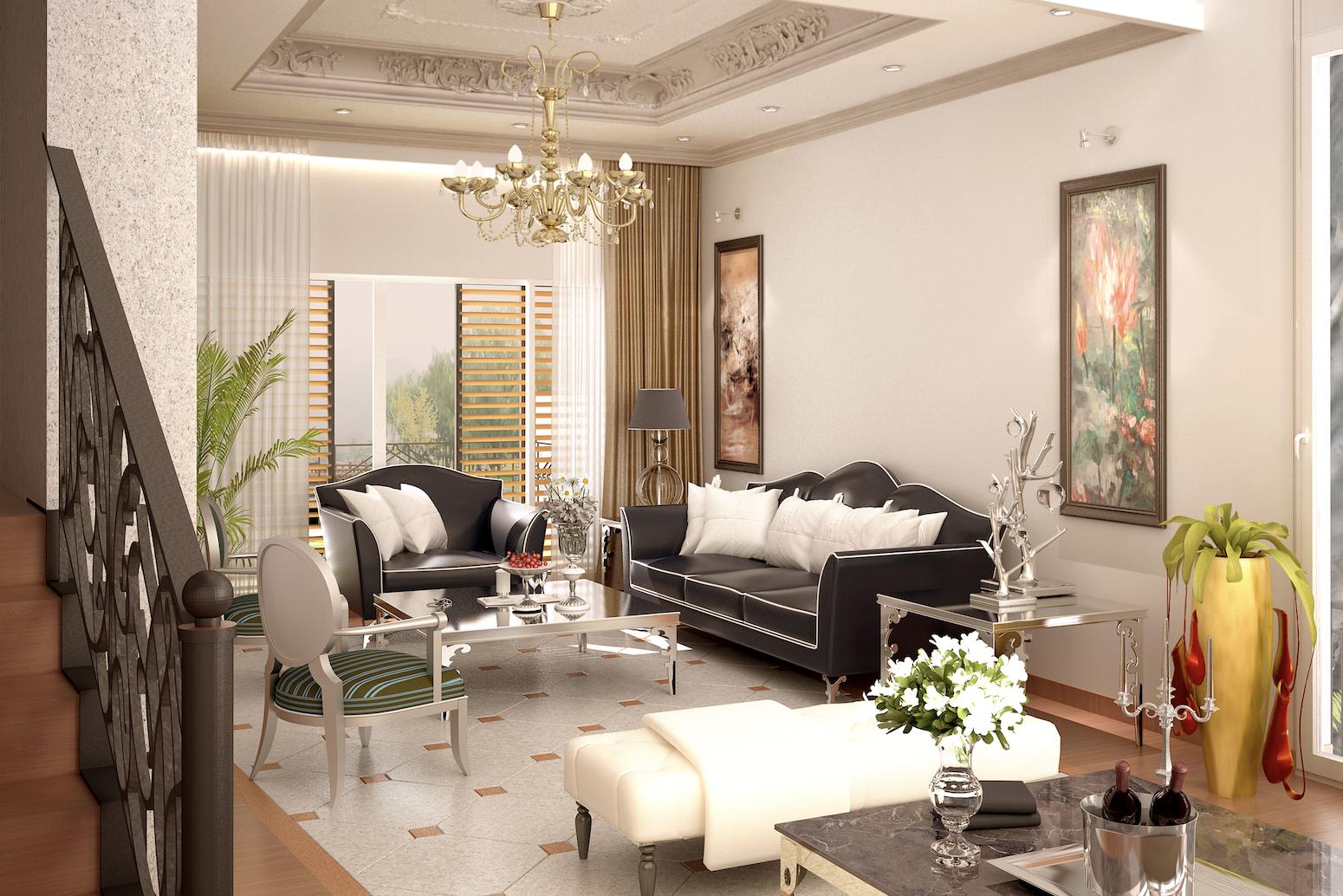 karla chacon Karla Chacon: Glamorous Modern Interior Design Ideas Karla Cachon Principal living Villa Hanoi Vietnam