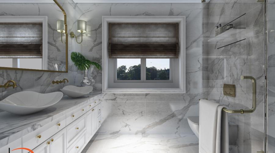 Karla Cachon Bathroom Interior Design karla chacon Karla Chacon: Glamorous Modern Interior Design Ideas Karla Cachon bathroom interior design