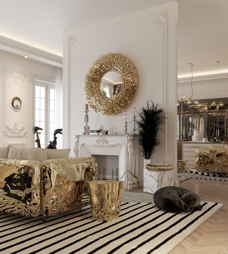 Living Room Designs and Ideas Modern, Sophisticated & Comfortable 3 gold side table living room designs and ideas Living Room Designs and Ideas: Modern, Sophisticated & Comfortable Living Room Designs and Ideas Modern Sophisticated Comfortable 3 gold side table