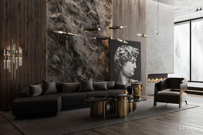 Living Room Designs and Ideas Modern, Sophisticated & Comfortable  black sofa living room designs and ideas Living Room Designs and Ideas: Modern, Sophisticated & Comfortable Living Room Designs and Ideas Modern Sophisticated Comfortable 5 black sofa