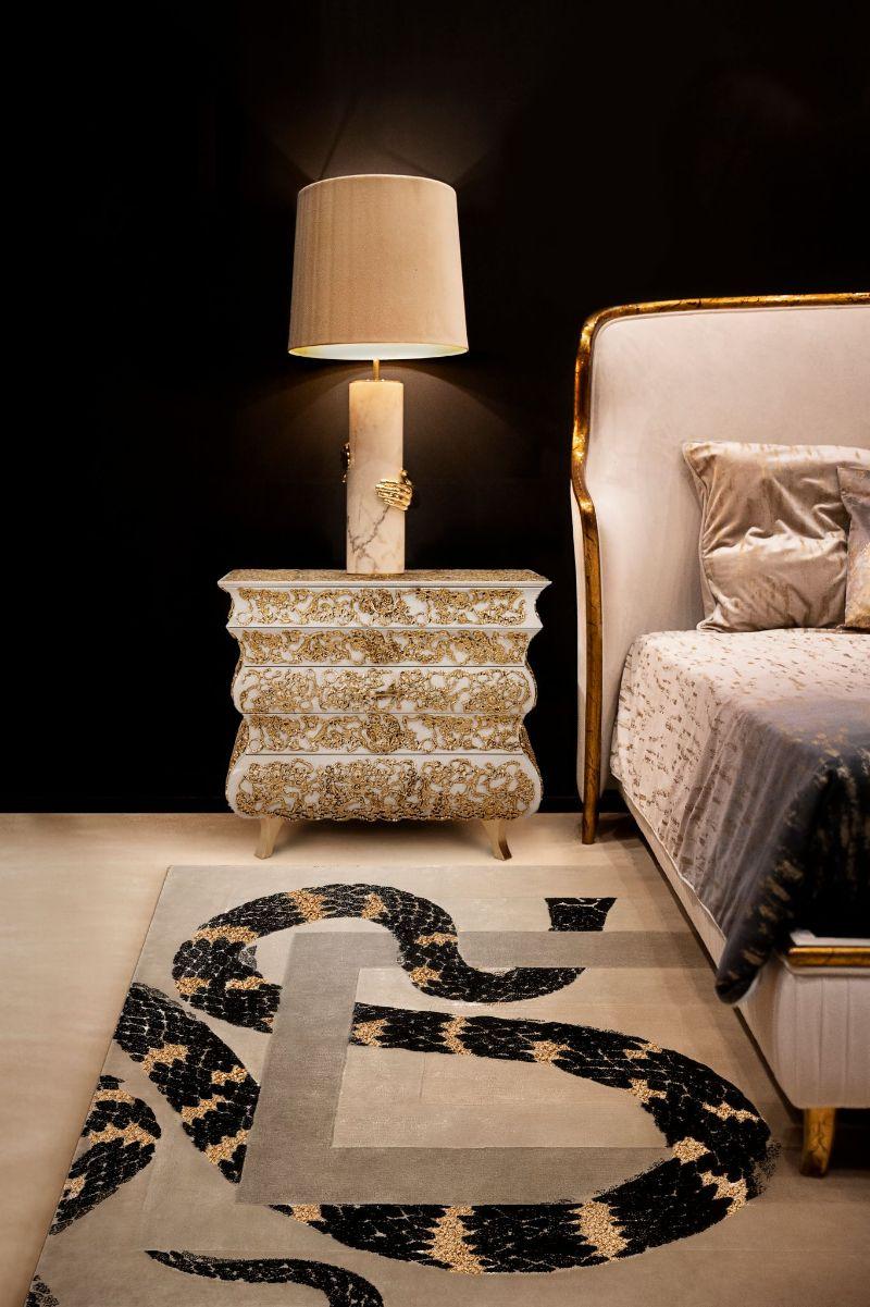 modern bedroom and closet design Modern Bedroom and Closet Design: Sophisticated & Timeless Modern Bedroom and Closet Design Sophisticated Timeless 12 white nightstand