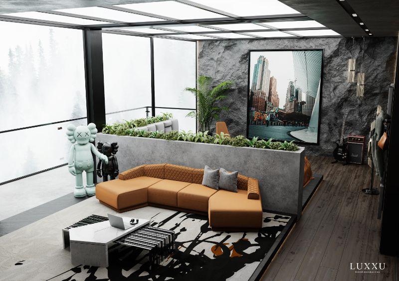 modern bedroom and closet design Modern Bedroom and Closet Design: Sophisticated & Timeless Modern Bedroom and Closet Design Sophisticated Timeless 3 orange modular sofa