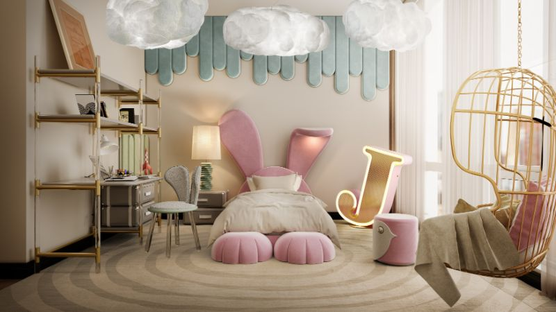 modern bedroom and closet design Modern Bedroom and Closet Design: Sophisticated & Timeless Modern Bedroom and Closet Design Sophisticated Timeless 7 velvet pink bed