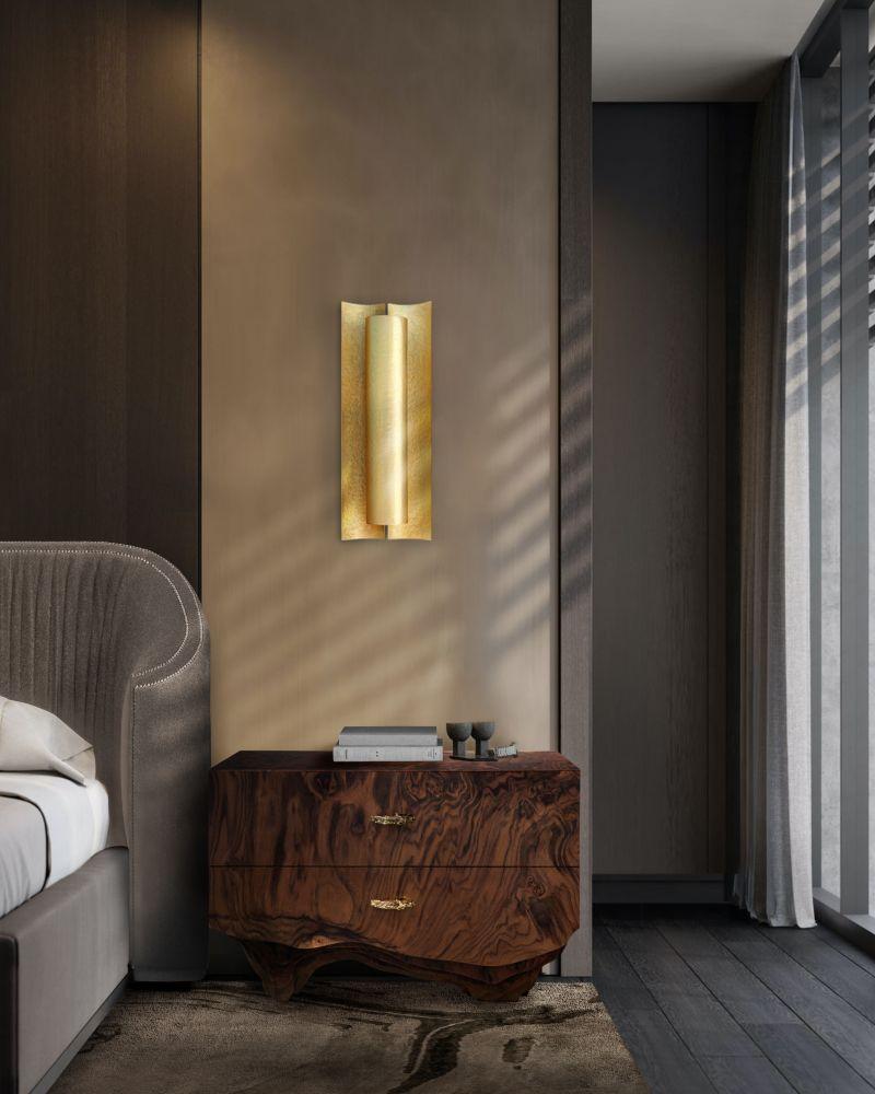 modern bedroom and closet design Modern Bedroom and Closet Design: Sophisticated & Timeless Modern Bedroom and Closet Design Sophisticated Timeless 9 wood nightstand