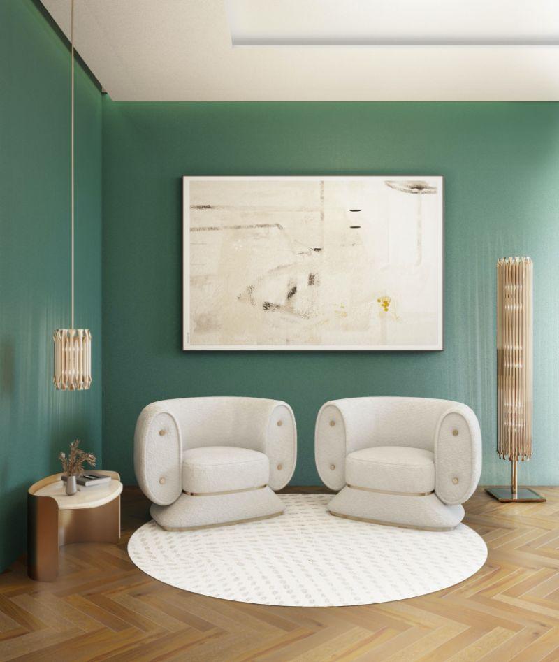 modern reading corner design Modern Reading Corner Design: Comfortable, Functional, Nature-Inspired Modern Reading Corner Design Comfortable Functional Nature Inspired 2 white armchairs