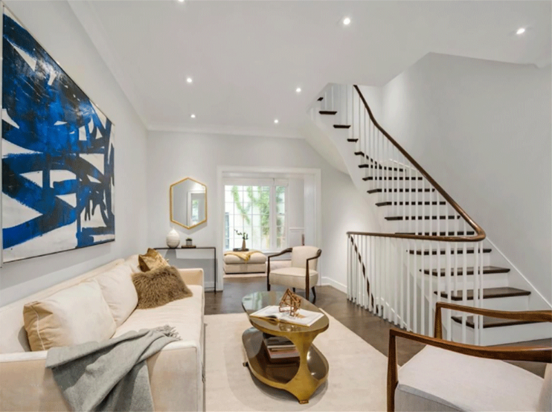 Tersigni Palachek - High-end Interiors from New York tersigni palachek Tersigni Palachek – High-end Interiors from New York Tersigni Palachek High end Interiors from New York Village Townhouse 2