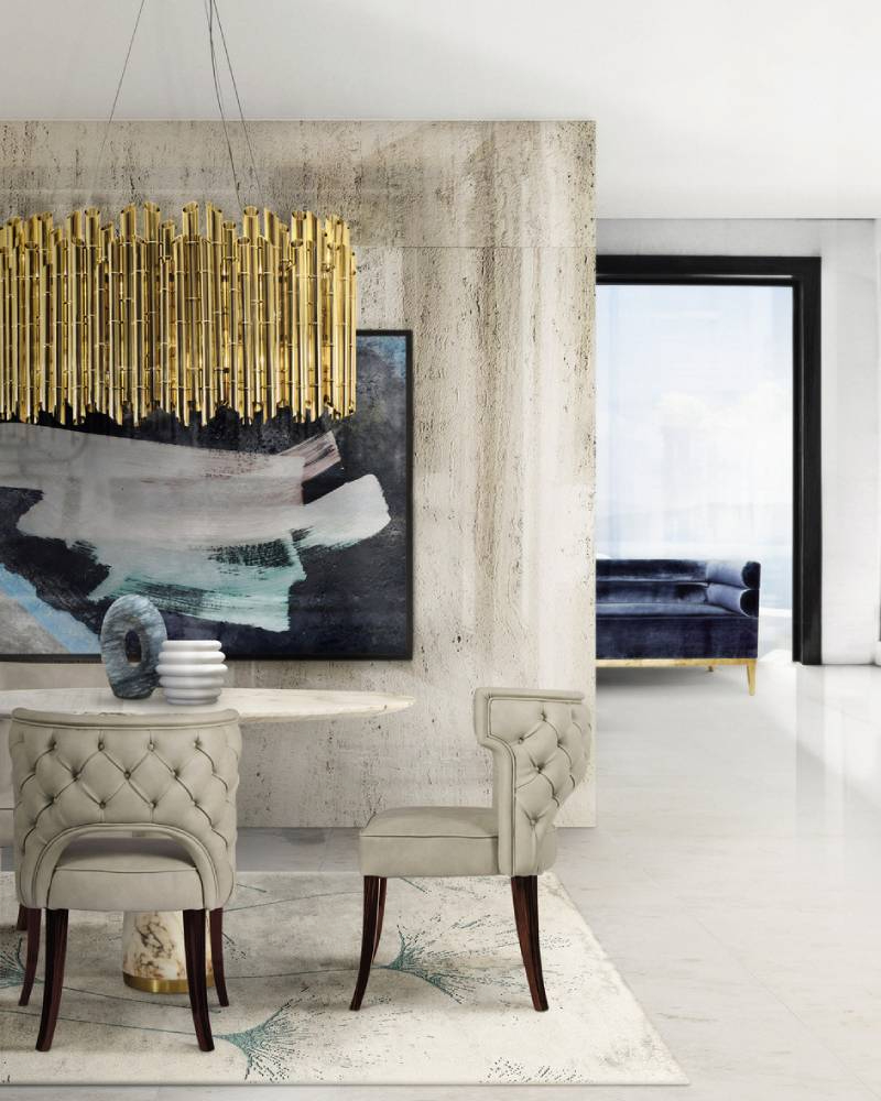 the best interior design ideas Raquel Chamorro: The Best Interior Design Ideas kansas chair agra table dining saki suspension light macushi rug