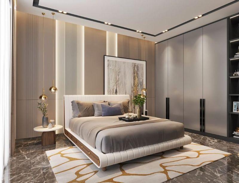 modern bedroom and closet design Modern Bedroom and Closet Design: Sophisticated & Timeless Modern Bedroom and Closet Design Sophisticated Timeless 3