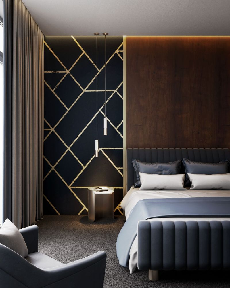 modern bedroom and closet design Modern Bedroom and Closet Design: Sophisticated & Timeless Modern Bedroom and Closet Design Sophisticated Timeless 8