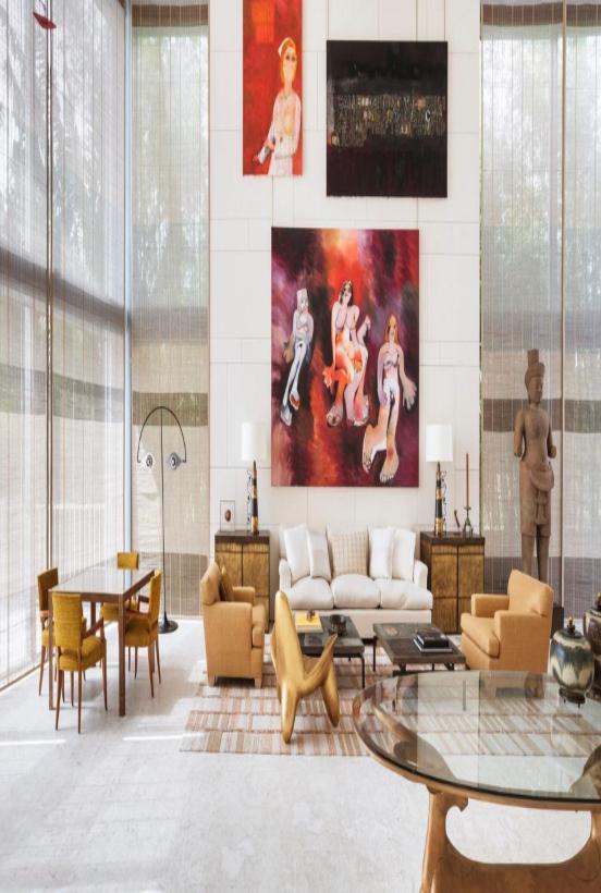 Peter Marino's Residential Interior Design Projects peter marino Peter Marino's Best Residential Interior Design Projects Peter Marino Miami Beach Residence 2