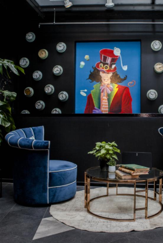ivy's design Ivy's Design – The twist we didn't know we needed The Twist of Ivys Design in Modern Interior Decor Alice in Wonderland decoration 1