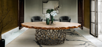 Most impressive round dining tables