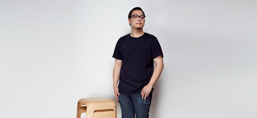 """The """"New Designer"""" winner for 100% Design 2015 is Mu Hau KaoThe New Designer winner for 100 Design 2015 is Mu Hau Kao 258"""