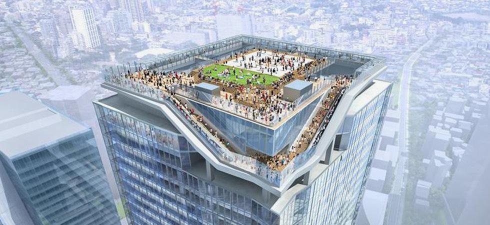 Tokyo adds a new skyscraper to its skyline by Kengo Kuma + Nikken