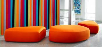 Bernhardt Design new colorful modular seating by Noé Duchaufour-Lawrance