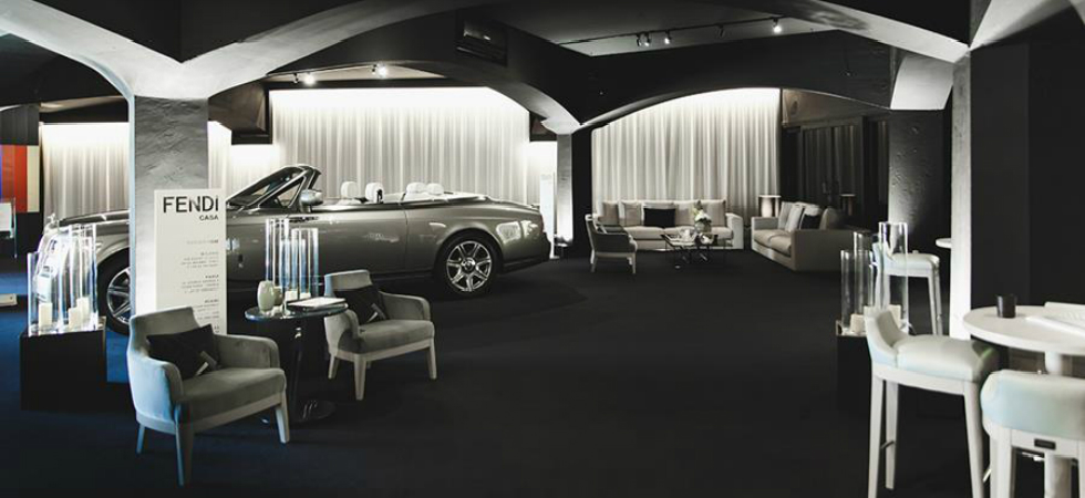 Luxury Living Group furnishes the prestigious Rolls Royce location in Porto CervoLuxury Living Group furnishes the prestigious Rolls Royce location in Porto Cervo C  pia