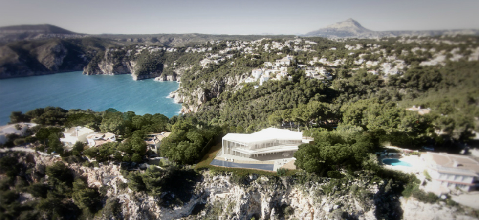 The new project by Ramón Esteve has a breathtaking view to the MediterraneanThe new project by Ram  n Esteve has a breathtaking view to the Mediterranean