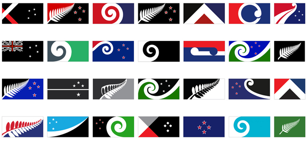 New Zealand announces 40 potential new flag designs New Zealand announces 40 potential new flag designsUntitled 15