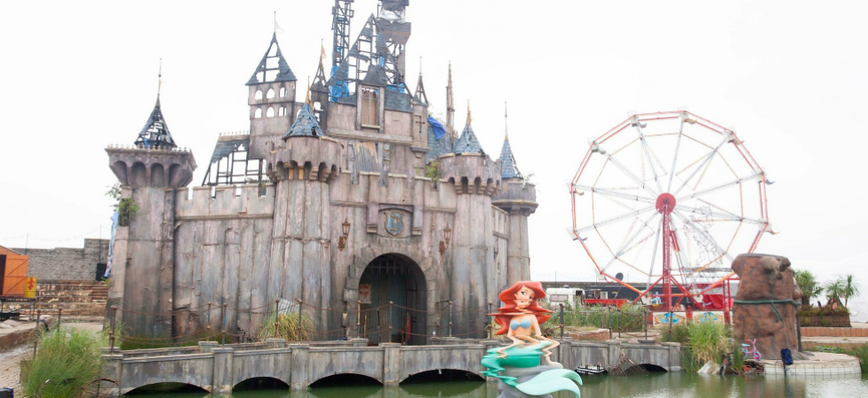 Banksy's Dismaland in pictures: where dreams become the society's realitybanksy dismaland pictures banksy pictures 10