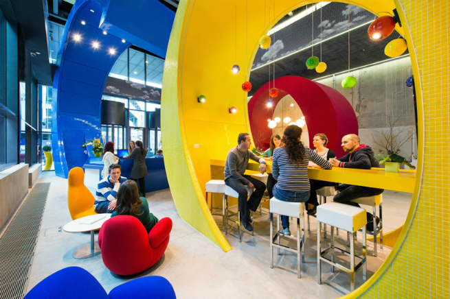 Interview with the studio responsible for Google's Offices Design Offices DesignInterview with the studio responsible for Google's Offices Designgoogle office 1