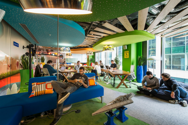 Interview with the studio responsible for Google's Offices Design offices designInterview with the studio responsible for Google's Offices Designgoogle office 201
