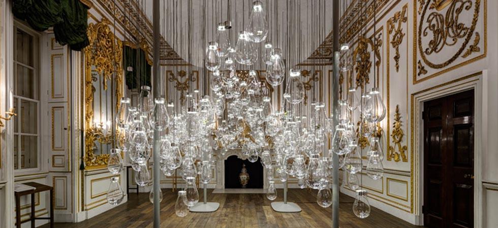 Magic lighting installation at V&A Museum London Design Festival 2015 – Magic lighting installation at V&A MuseumMagic lighting installation at VA Museum