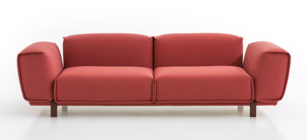 "Patricia Urquiola's new ""Bold Sofa"" for Morosodesign furniture new products modern interior design 1"