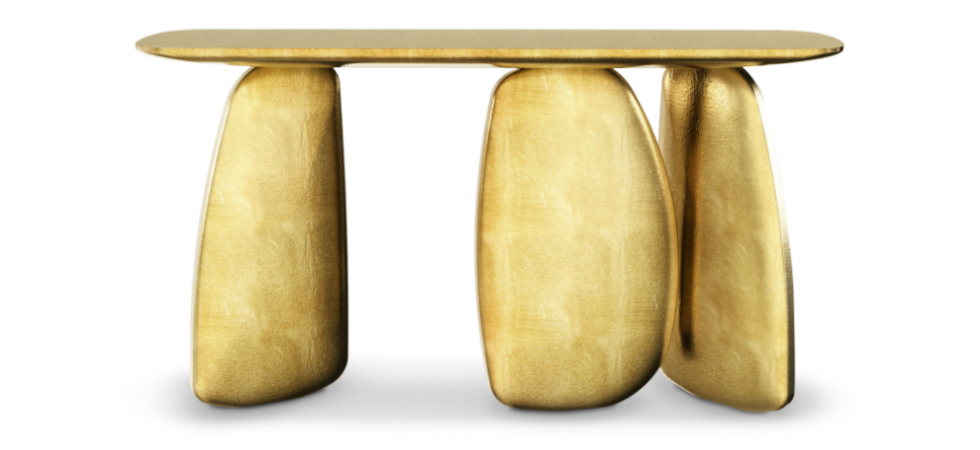 ARDARA console is the new product by BRABBU inspired by the neolithic periodmodern contemporary furniture modern console table 4