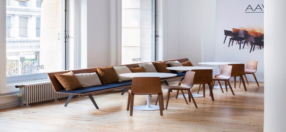 Arper launches its new NYC showroom in Soho